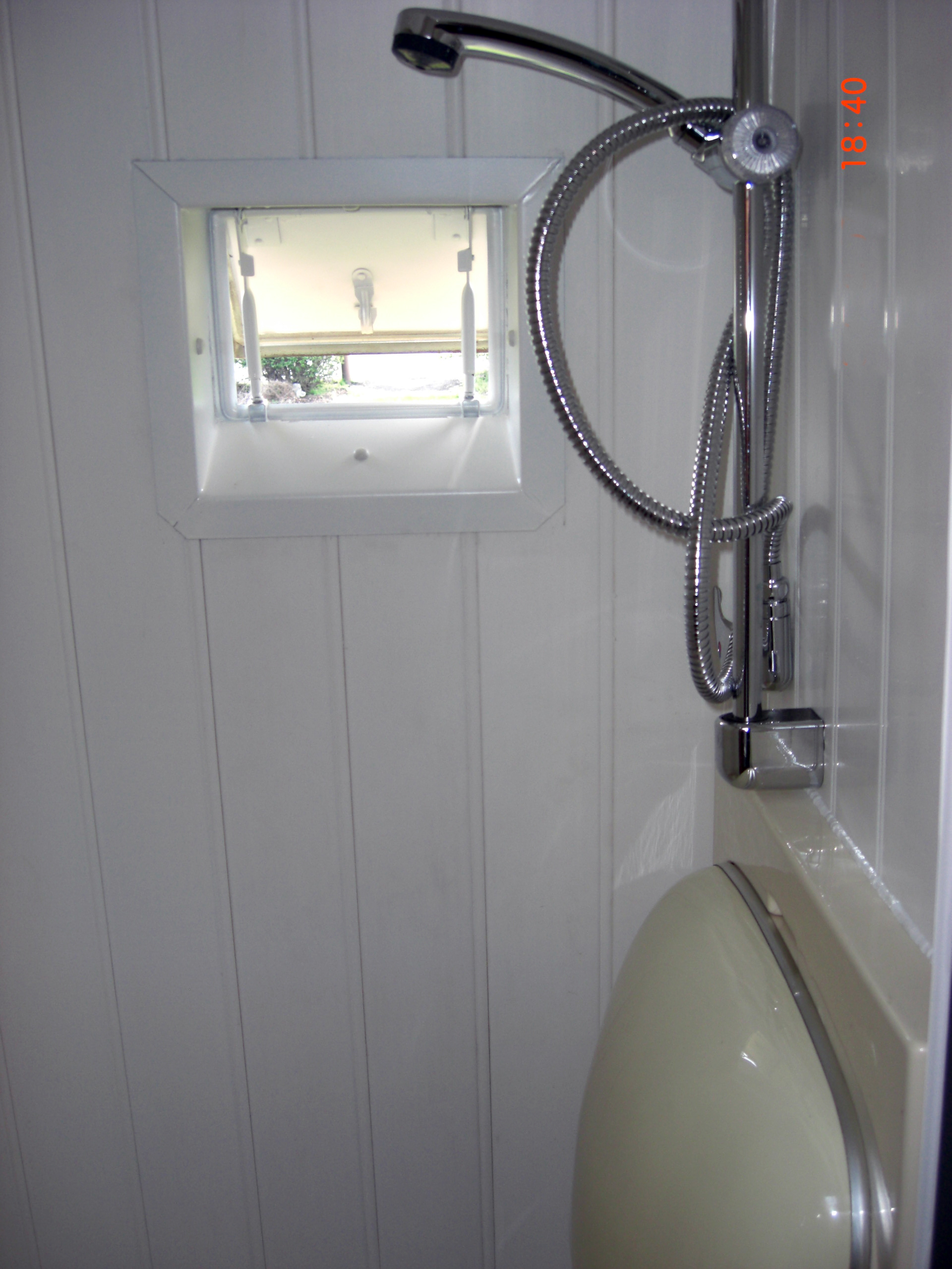 The Shower Room, With Fold Down Sink
