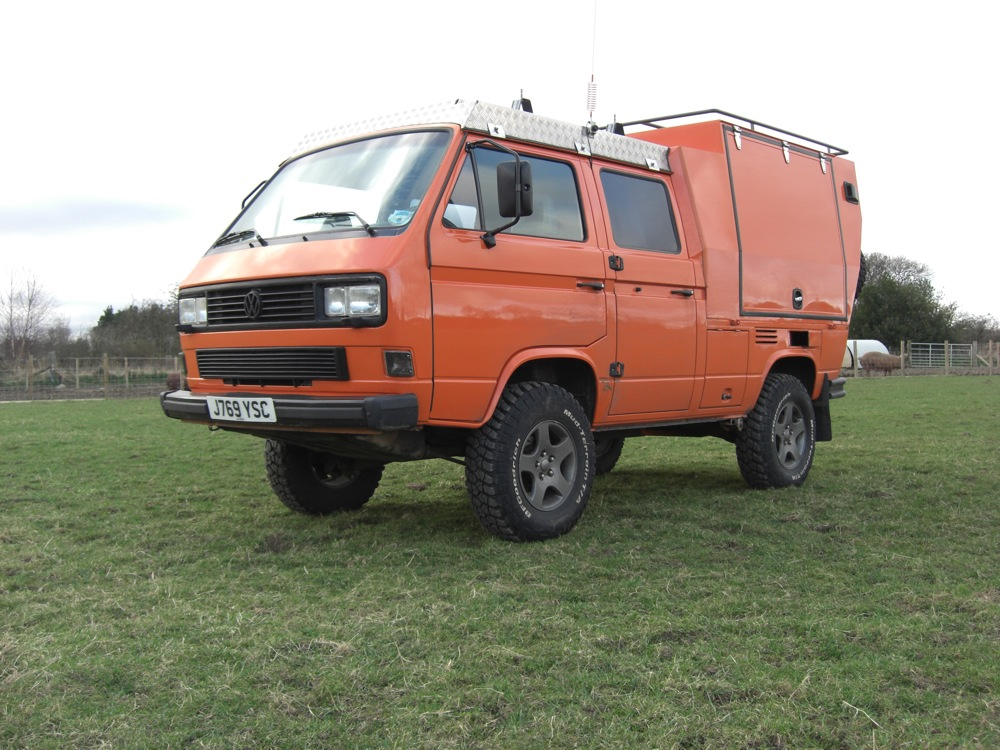 Sold 16 Syncro Double Cab Are You Ready For Expedition