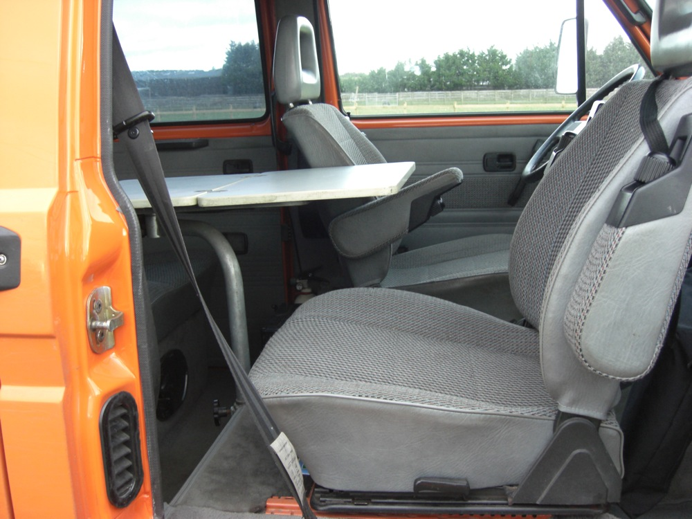Swivel Seats And Front Table Campervanculture Com
