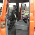 Tri Star Spec interior with 4x3 point belts