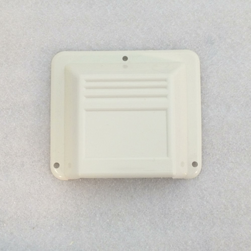 Westfalia exterior fridge vent cover 255070509 in white for Exterior vent covers