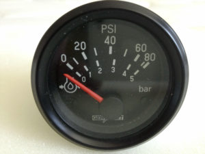 12v VDO Gen Part Oil Pressure Gauge 2