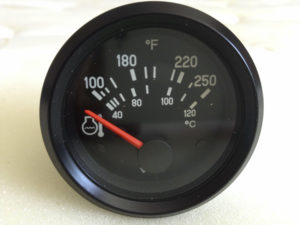 12v VDO oil Temperature Gauge