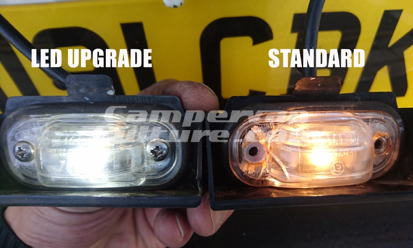 Campervan Culture T3 T25 Vanagon License Plate Amp Side