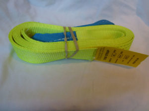Campervan Culture - Flouro Yellow Tow Strap