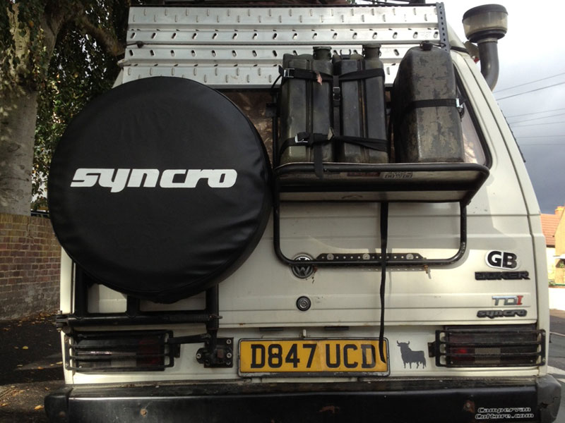 Campervan Culture Syncro Spare Wheel / Tyre Cover T25 / T3 ... | 800 x 600 jpeg 93kB
