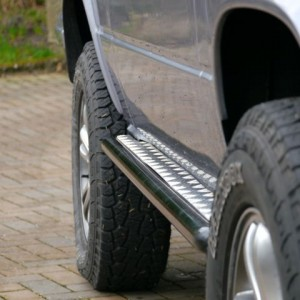 VW T25 T3 Rock sliders Sill protectors