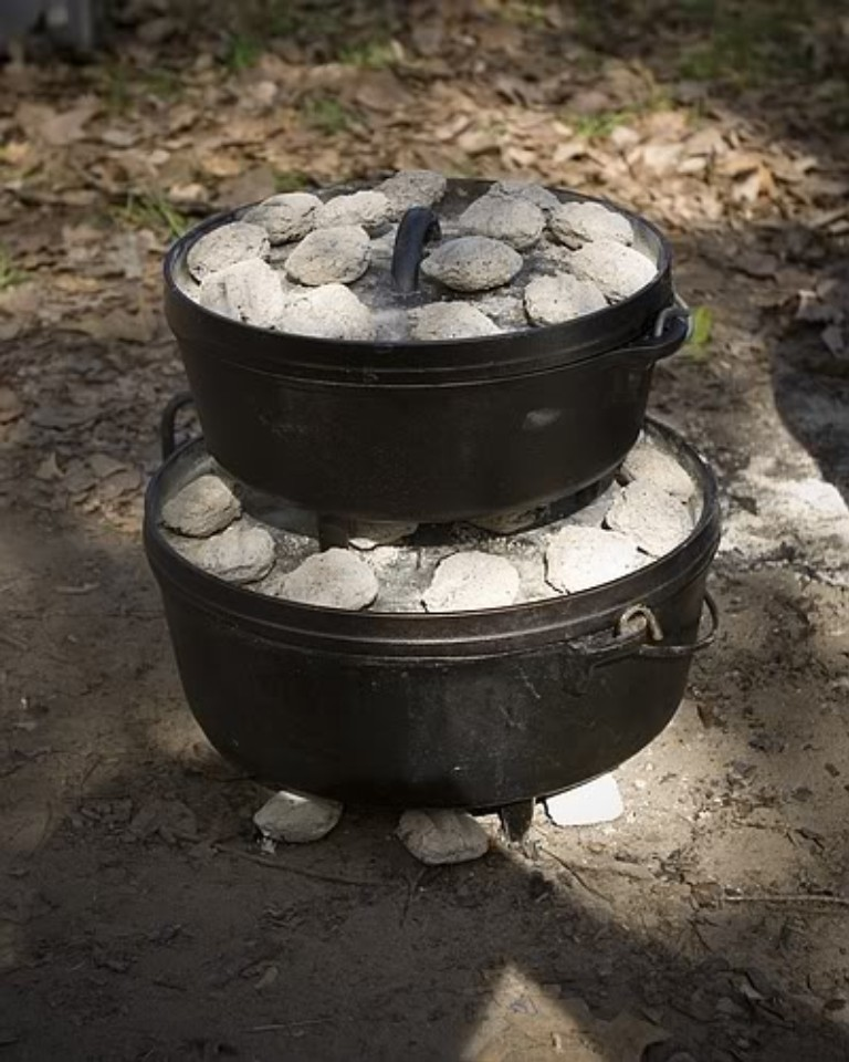 May 14,  · You can cook bread, pizzas, cakes, and other desserts in your Dutch oven by placing hot coals on top of the lid and underneath the Dutch oven full of food. To bake, you should place more coals on top of the lid than underneath the Dutch oven%(10).