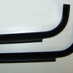 Vw T25 T3 Vanagon cab door window scrapers