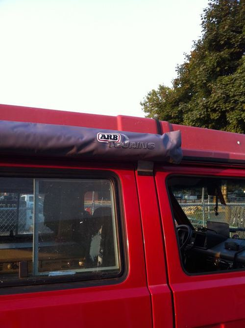 Arb 2500mm X 2500mm Side Awning With Cvc T25 T3 Fitting