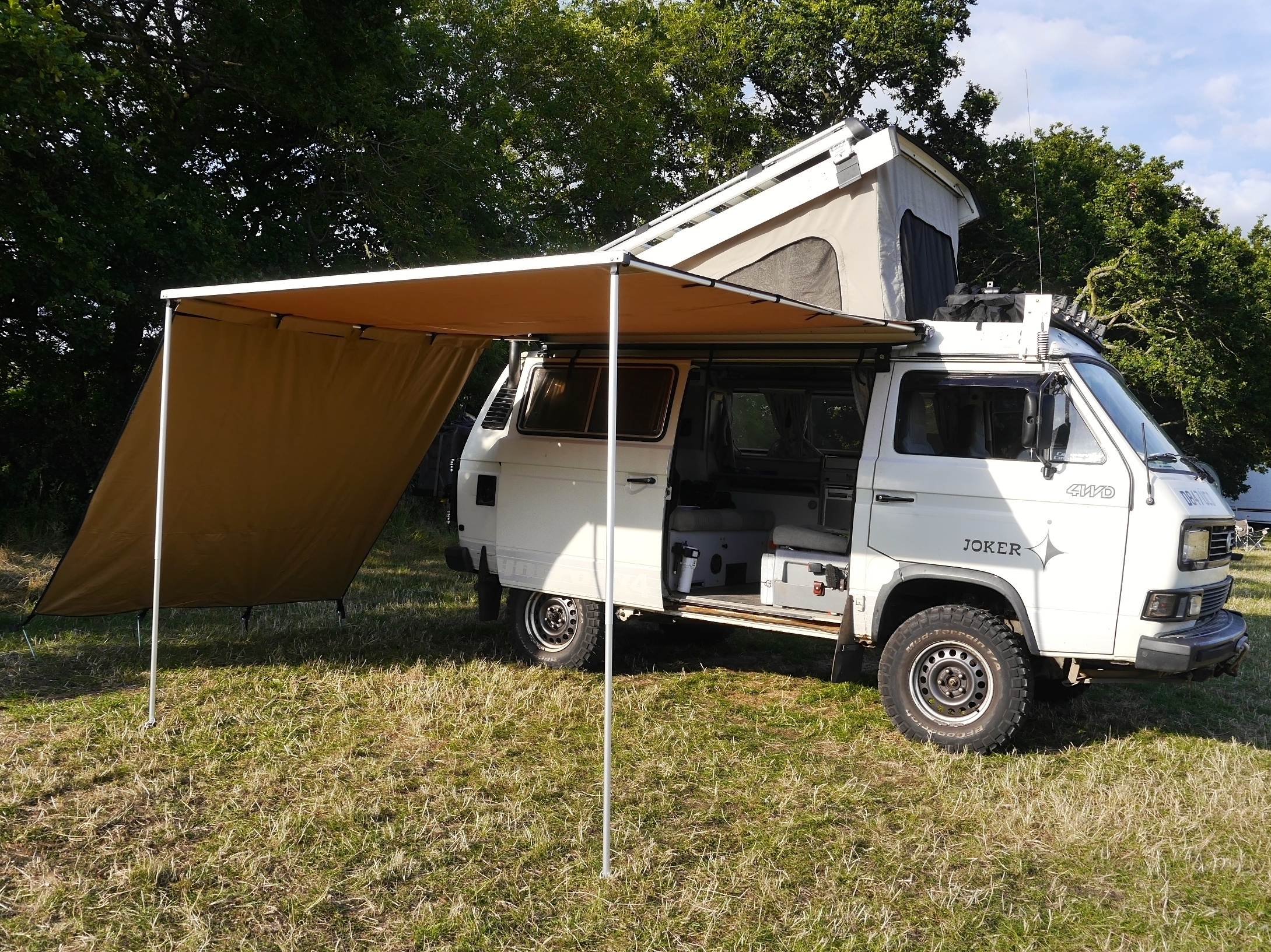 Arb Wind Break Side Campervanculture Com