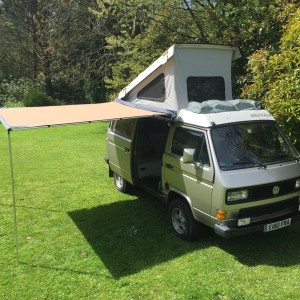 VW T25 T3 Vanagon ARB 2500mm x 2500mm Awning With CVC Fitting Kit : van awning tent - memphite.com