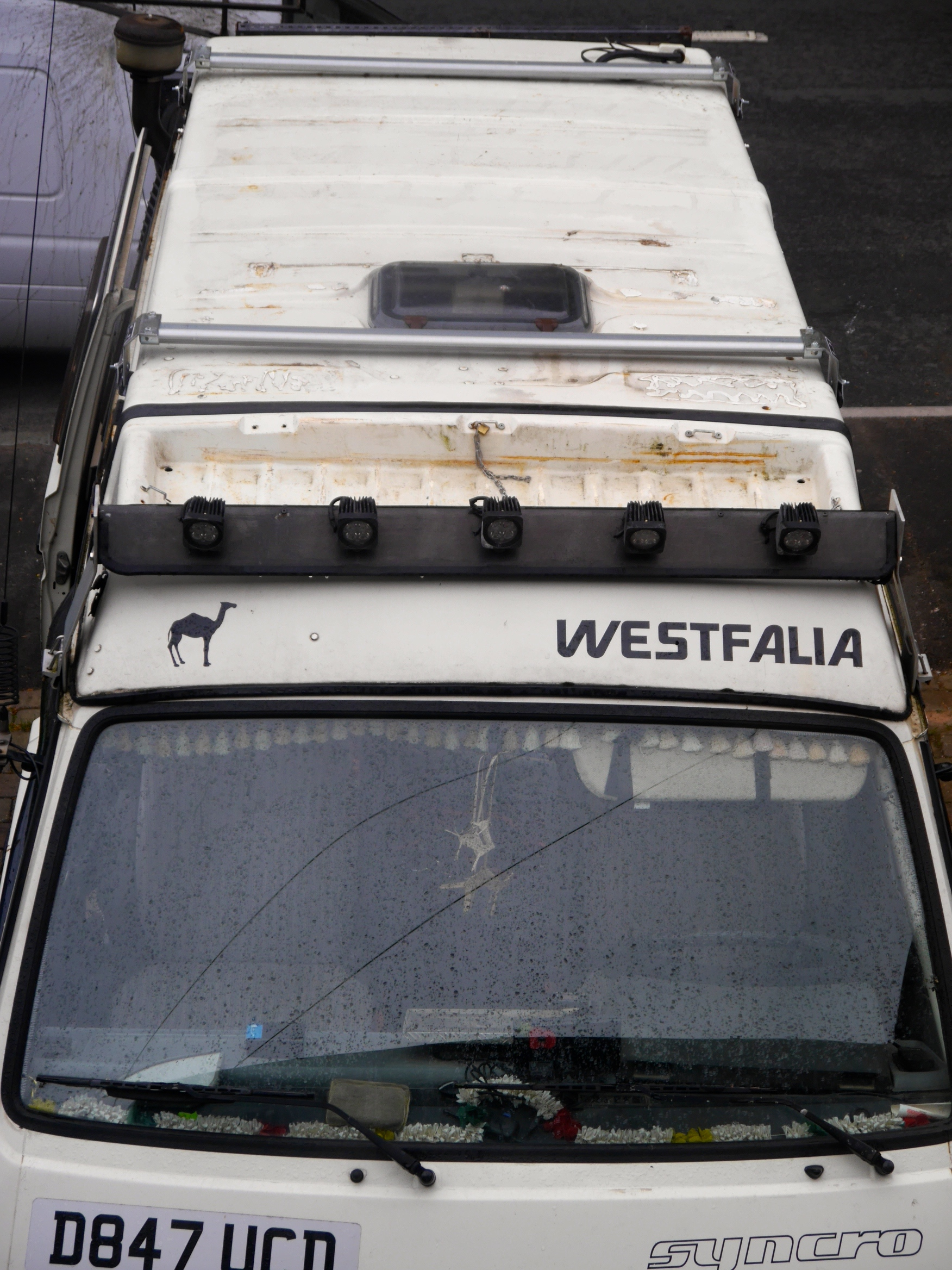 Cvc T25 T3 Vanagon Westfalia Pop Top Roof Rack Bars