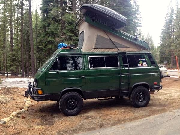 Rocky Mountain Westy Ladder Campervanculture Com