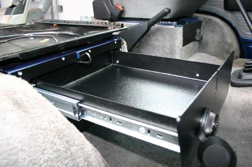 Rocky Mountain Westy Lockable Under Seat Storage Drawer