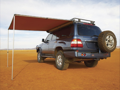 ARB 2500mm X Side Awning For Roof Rack Mounting