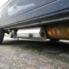 VW T25 under slung Westfalia stainless steel LPG tank cover