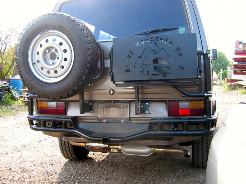 pikes peak rear bumper for vw t25 t3 syncro. Black Bedroom Furniture Sets. Home Design Ideas