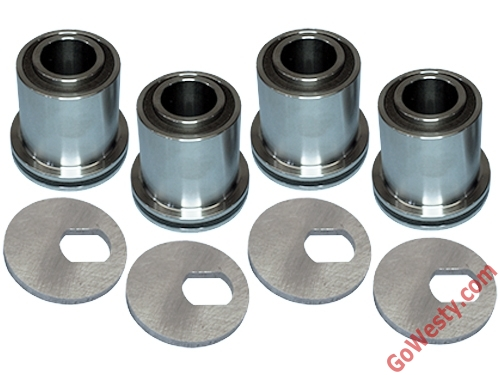 VW T25, T3, 2wd & Syncro Upper Control Arm Bushing (Full Set) From Gowesty