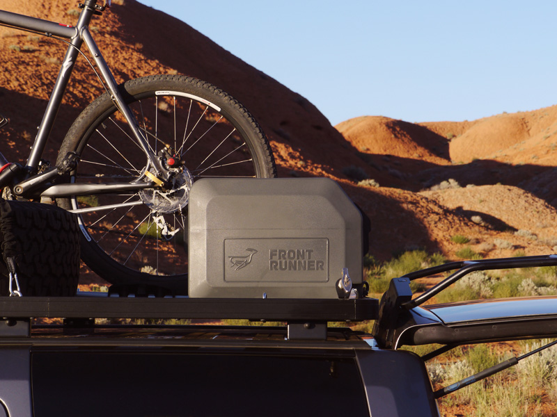 Expedition Aluminium Roof Rack Water Tank 45l With