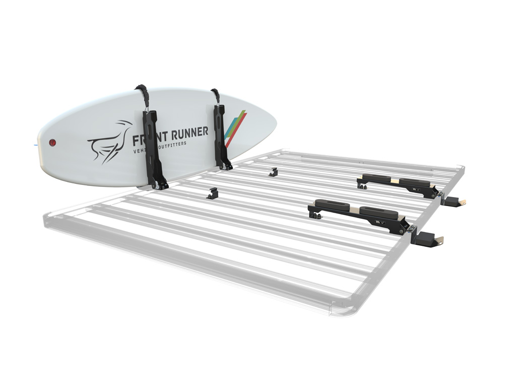 Expedition Aluminium Roof Rack Surfboard Holder Vertical