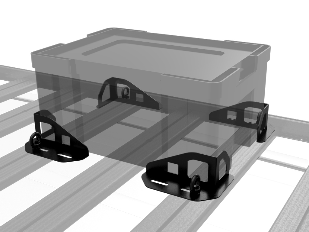 Expedition Aluminium Roof Rack Universal Corner Brackets