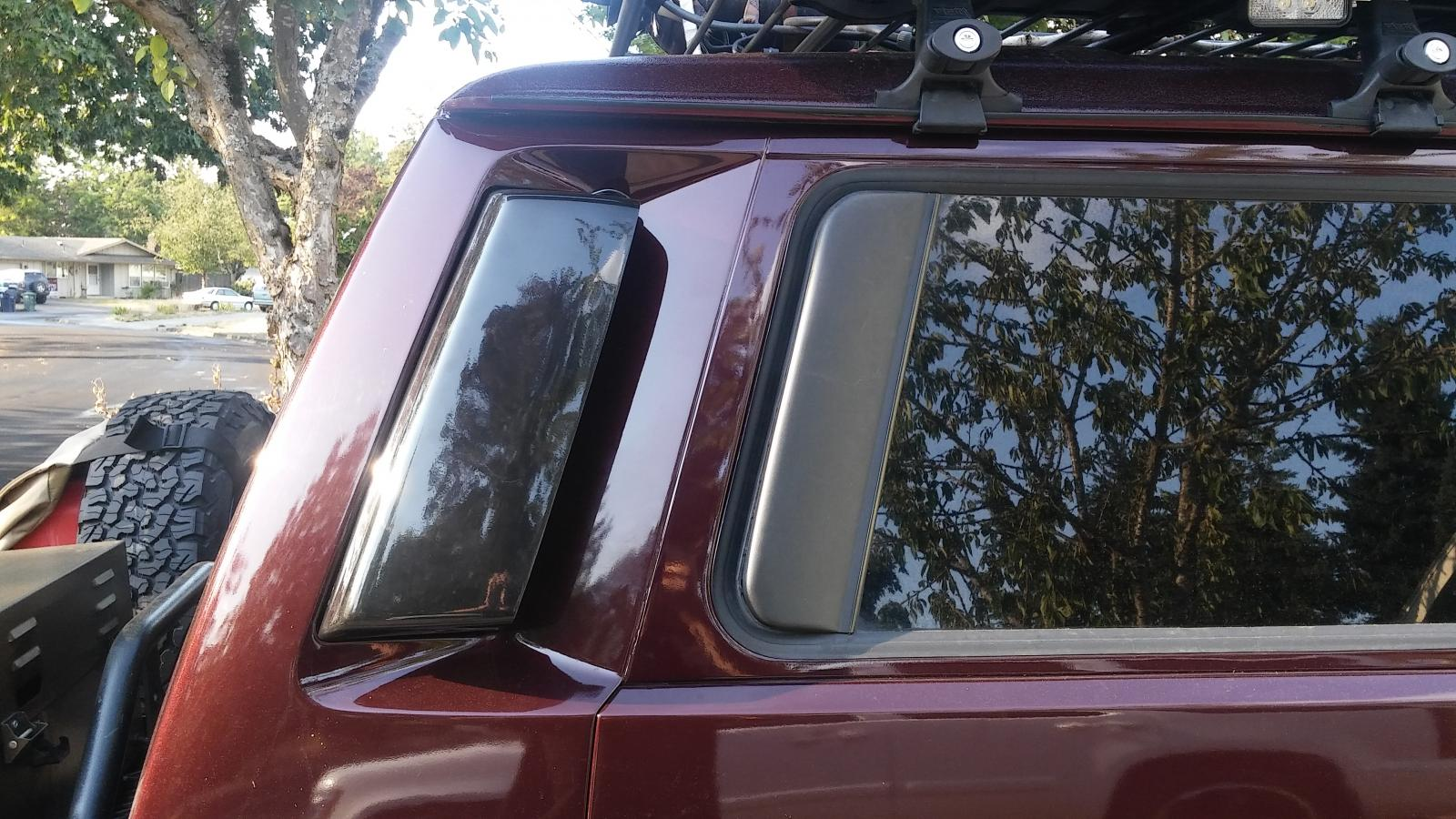 VW T25 T3 Vanagon Rear Air Channel Scoops ...