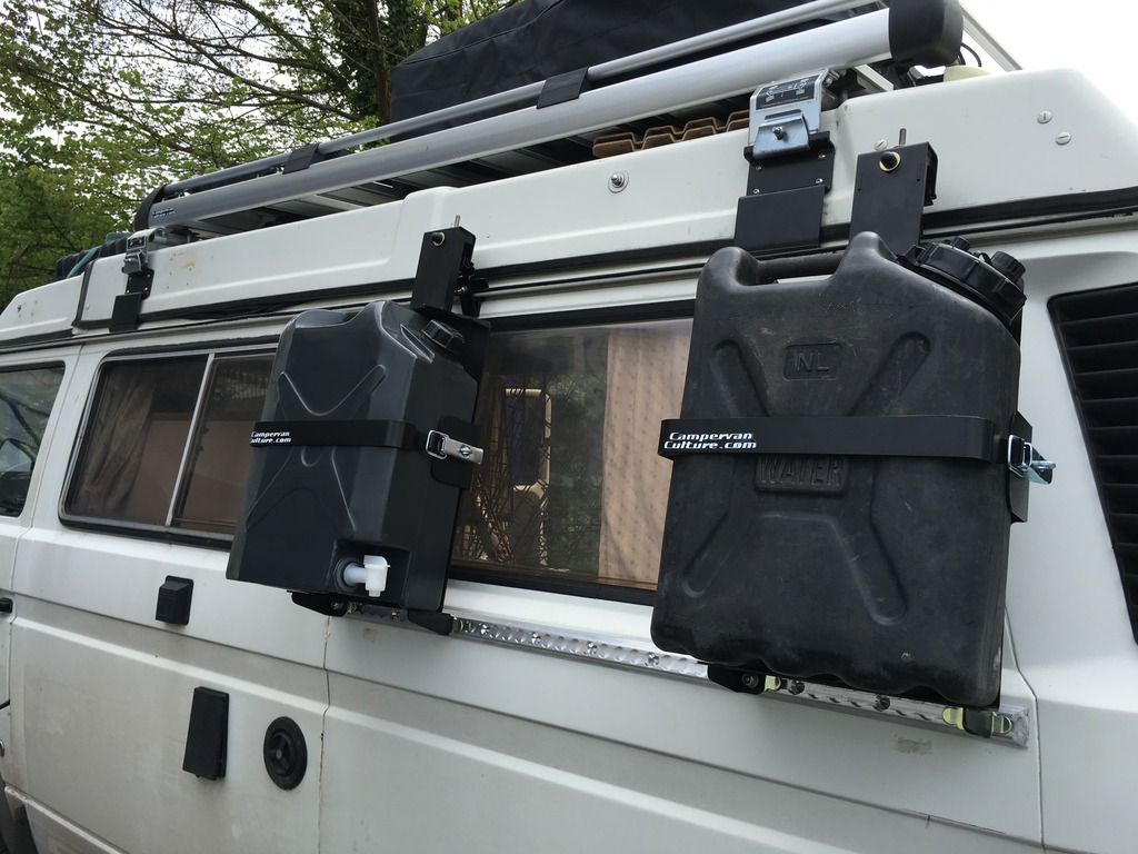Vw T2 T25 T3 Vanagon Cvc Side Mount System Jerry Can
