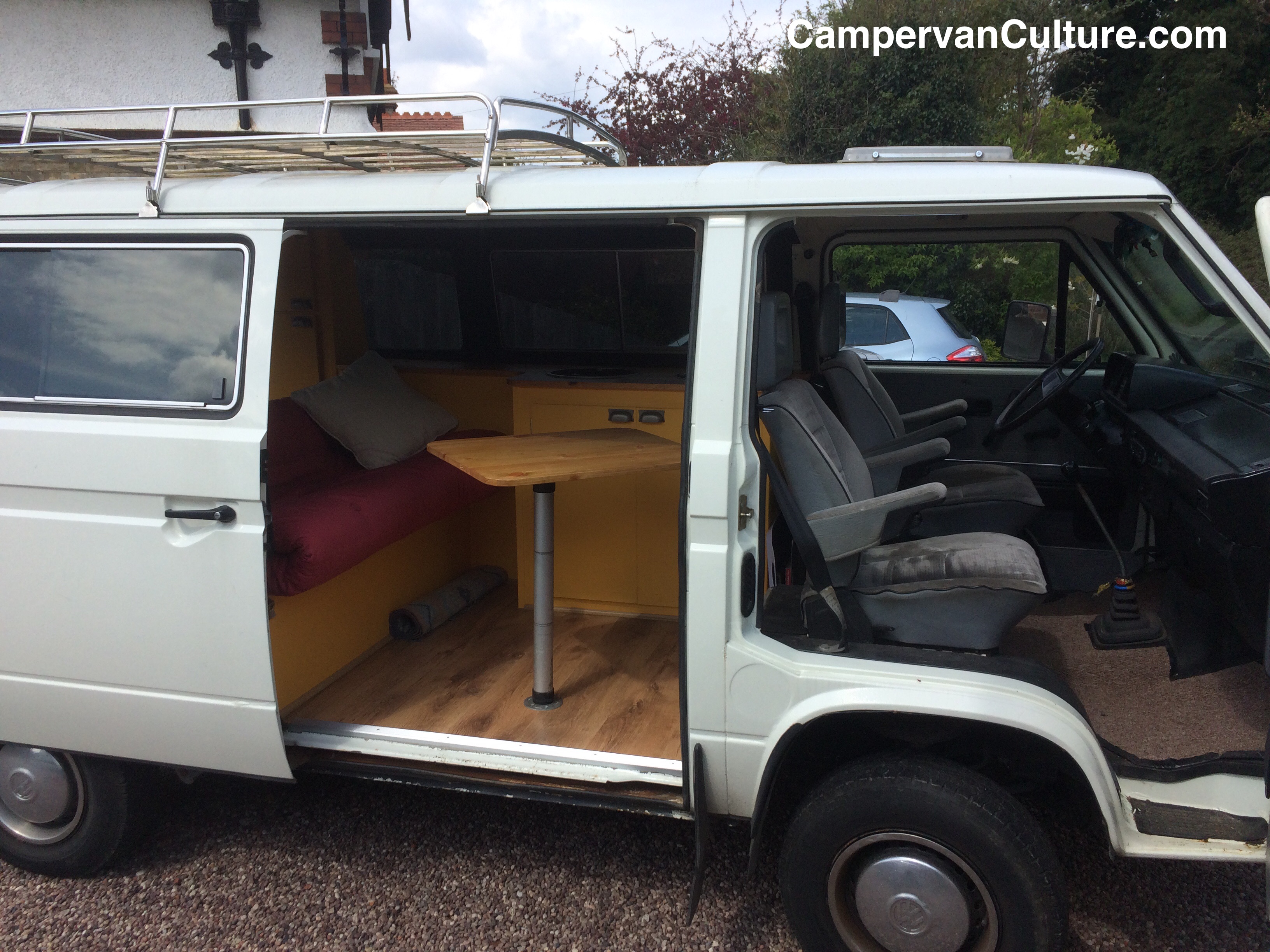 For Sale 1988 Vw T25 T3 Vanagon Caravelle Syncro 4x4 Campervanculture Com