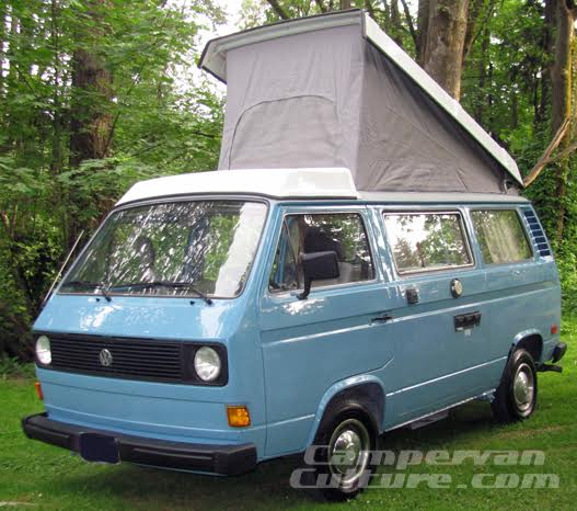 Vw T25 T3 Vanagon Westfalia Replacement Roof Canvas Grey