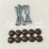 VW Westfalia Brown screw caps