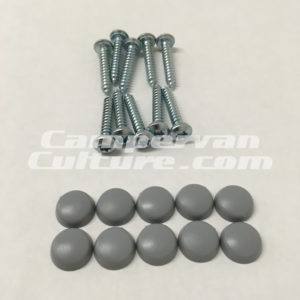 VW Westfalia Grey screw caps