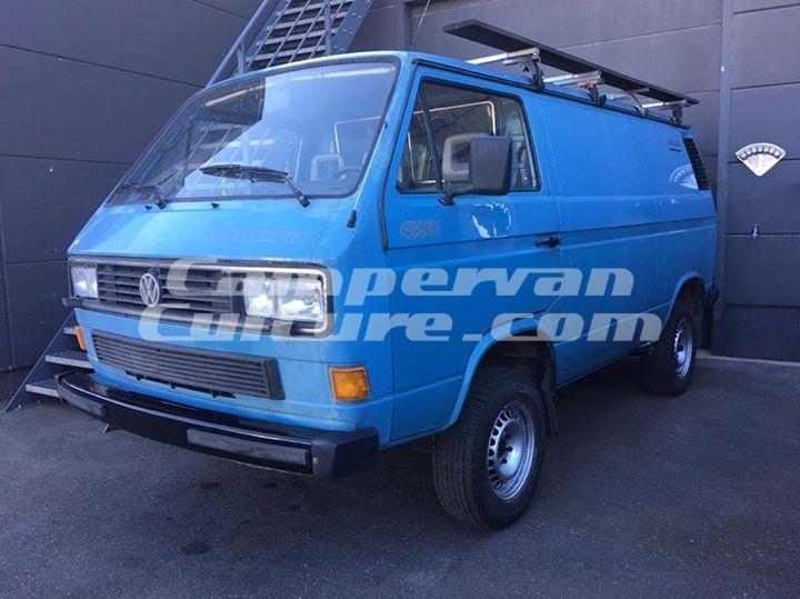 Vw Diesel Truck >> VW T25 T3 Syncro Panel Van SOLD | CampervanCulture.com