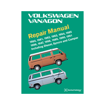 Westfalia User Guide For VW T25/T3 Vans