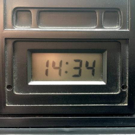 VW T25 Digital Clock