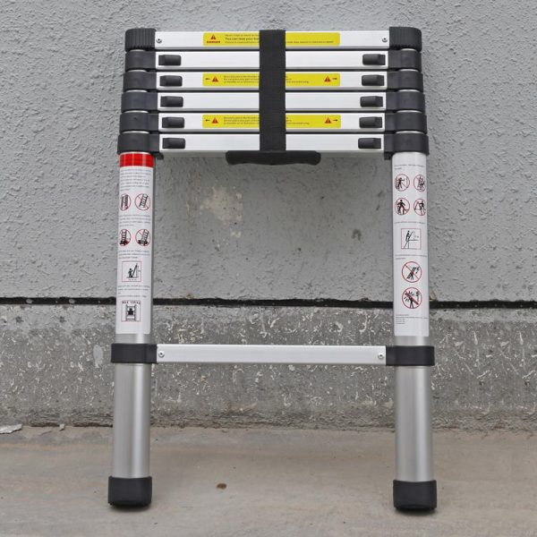 Telescopic Ladder Parts : Vw t vanagon m telescopic ladder campervanculture