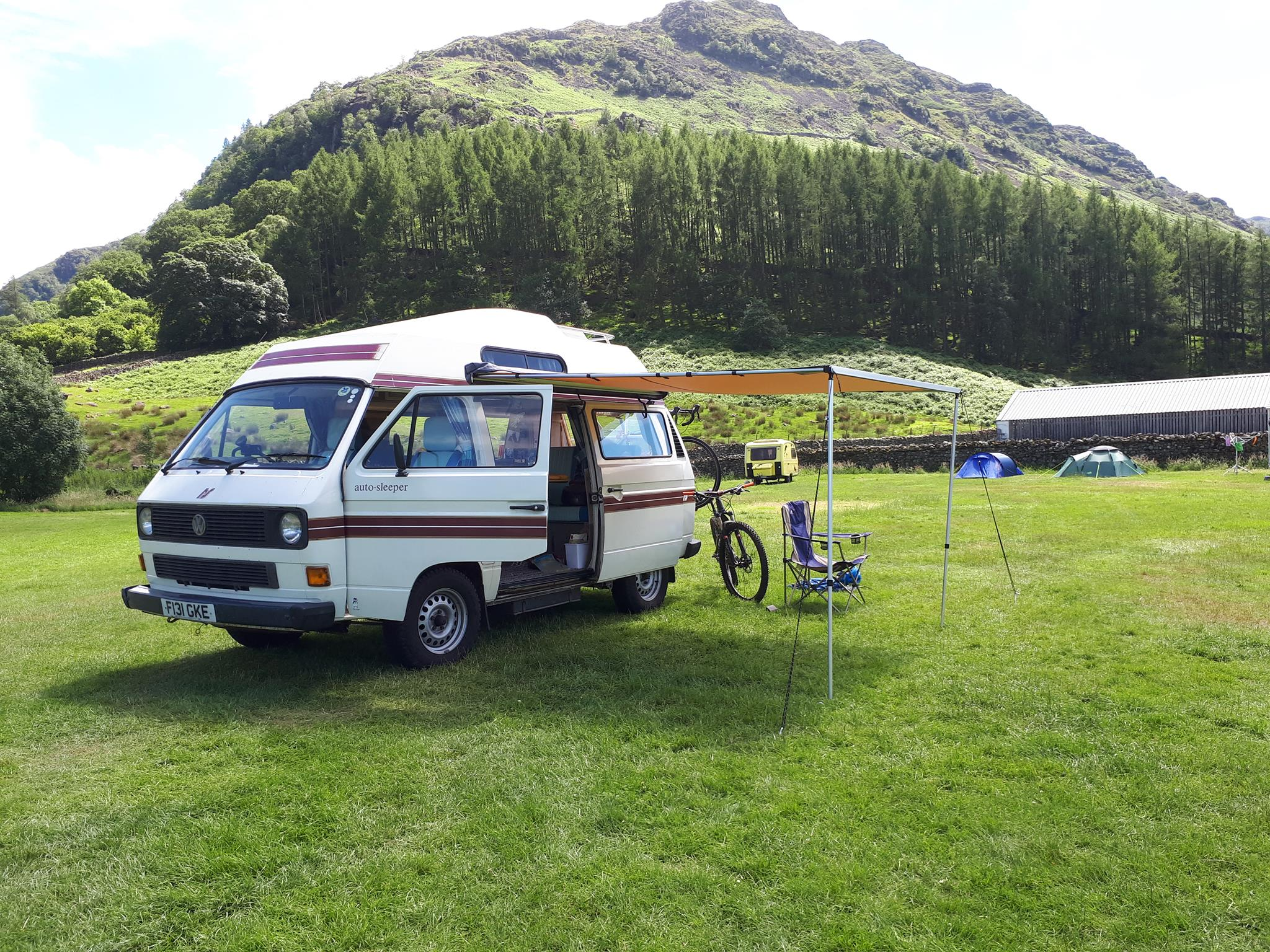 Vw T25 T3 Vanagon Arb 2500mm X 2500mm Awning With Cvc