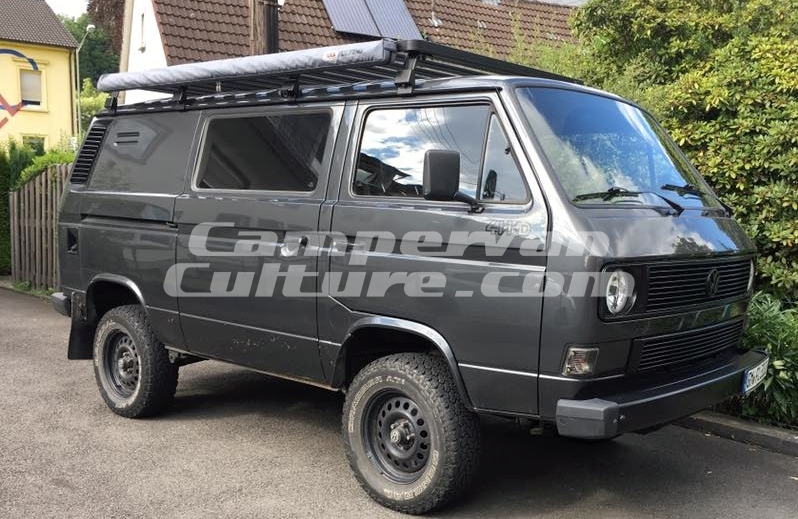 Vw T25 T3 Vanagon Tin Top Long Expedition Aluminium