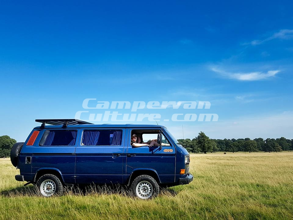 Vw T25 T3 Vanagon Tin Top Short Expedition Aluminium