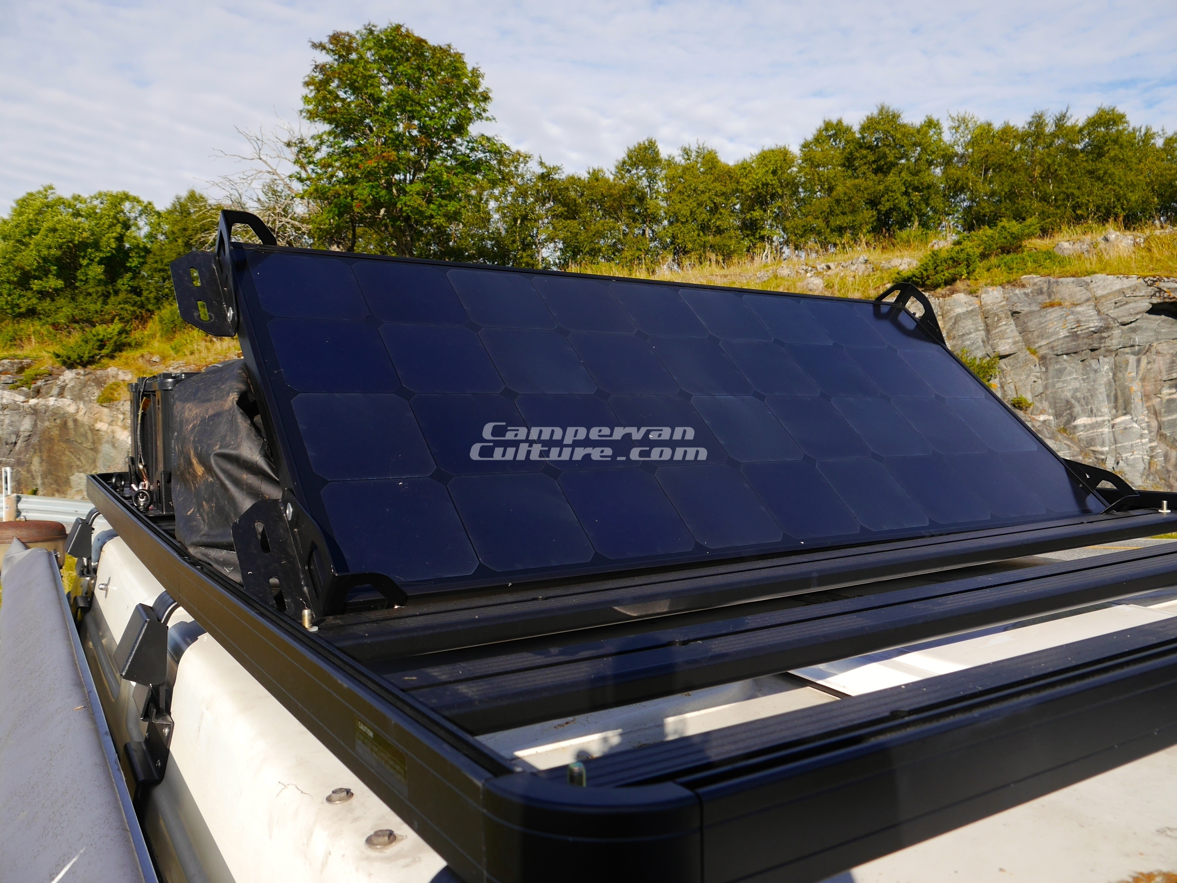High Quality Removable Solar Kit To Fit Cvc Supplied Front