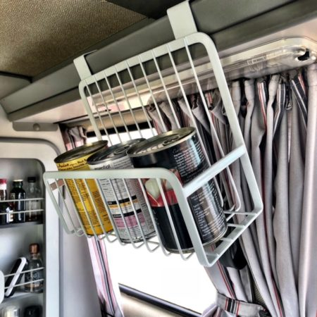 Westfalia shelf storage basket