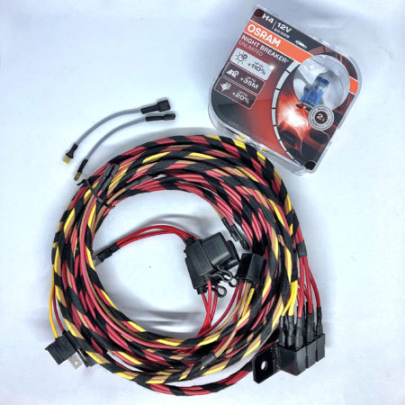 Diesel Headlight relay kit