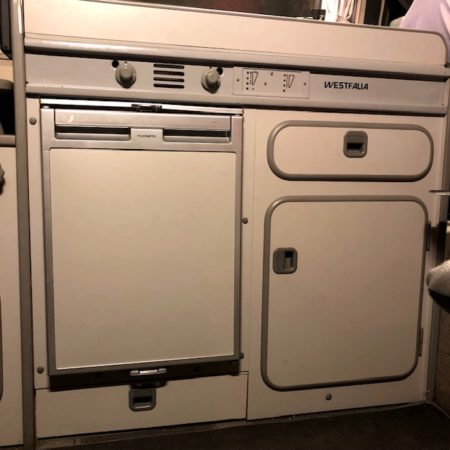 Westfalia Grey Fridge Door Panel for Waeco / Dometic CRX50