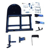 CVC Produced Swing Away Wheel Carriers, Trays & Acessories